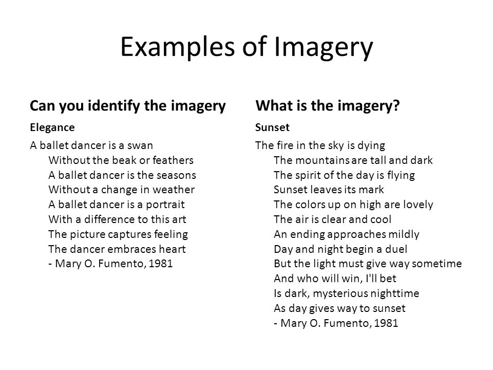 Imagery Figurative Language In Poetry Ppt Video Online Download