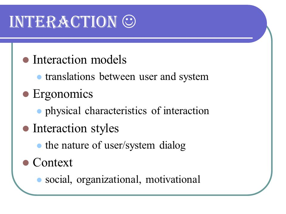 Human – Computer Interaction - ppt download