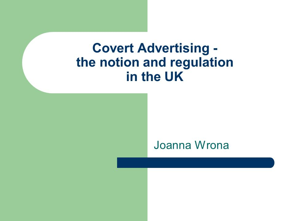 covert advertising definition