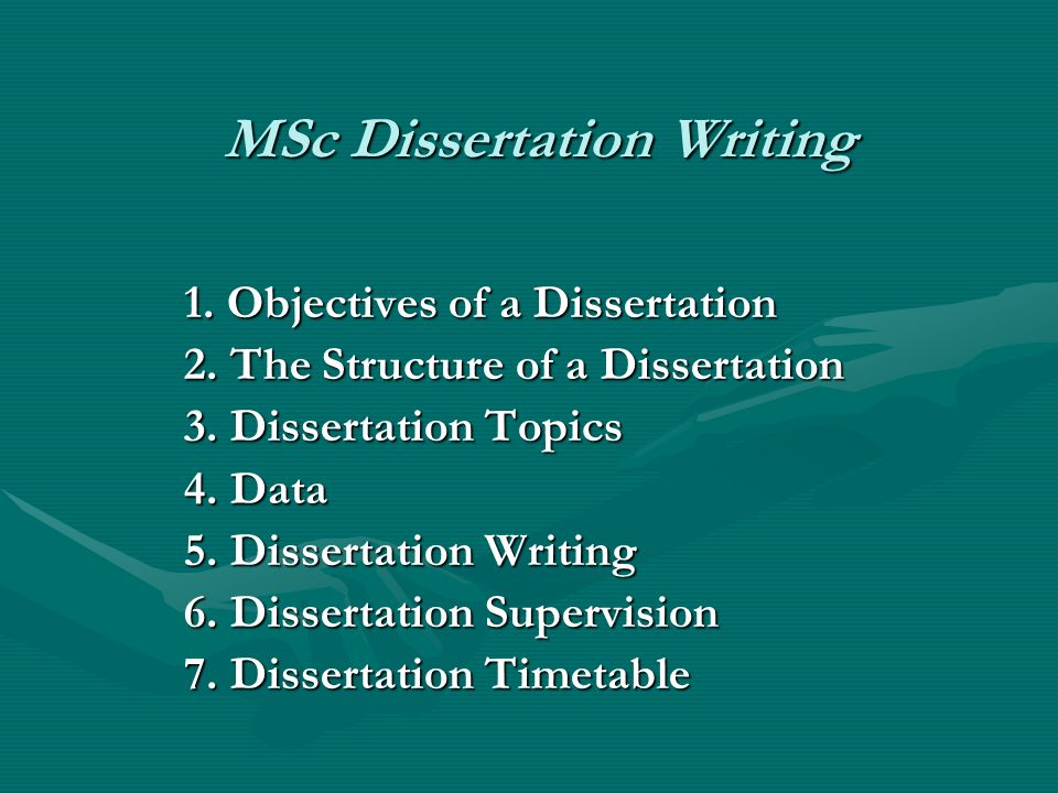 writing msc essays The general idea: a thesis is a hypothesis or conjecture a phd dissertation is a lengthy, formal document that argues in defense of a particular thesis.