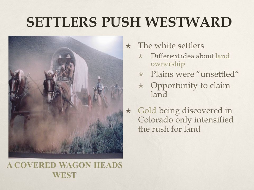 CHAPTER 5: CHANGES ON THE WESTERN FRONTIER - ppt video