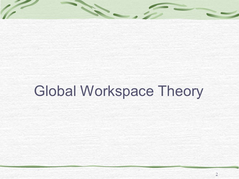 Global Workspace Architecture