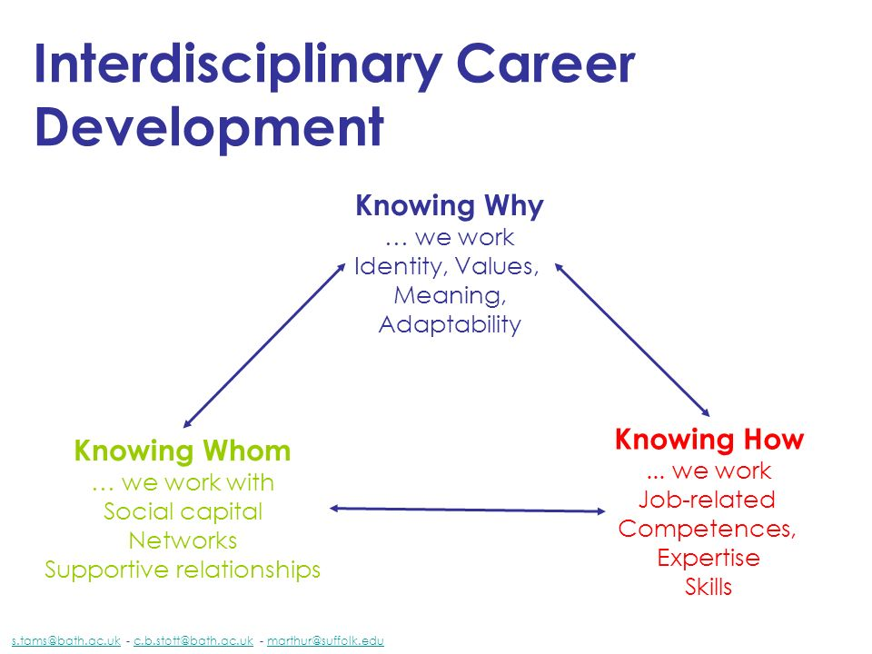 Interdisciplinary Career Development