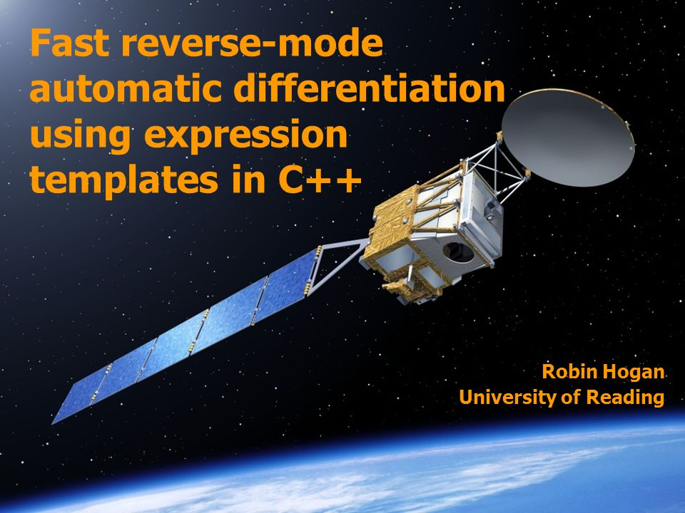 Fast reverse-mode automatic differentiation using expression templates in C++