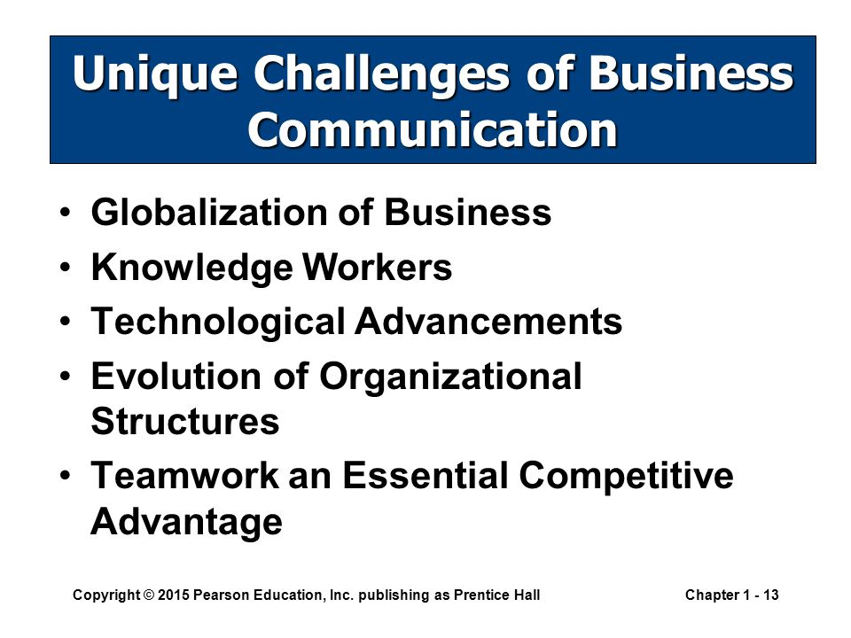 impact of technological advancement on business communication ppt