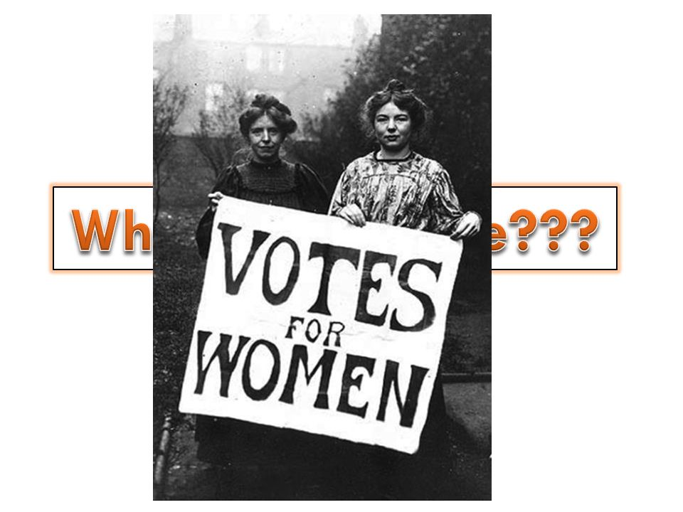 What is suffrage