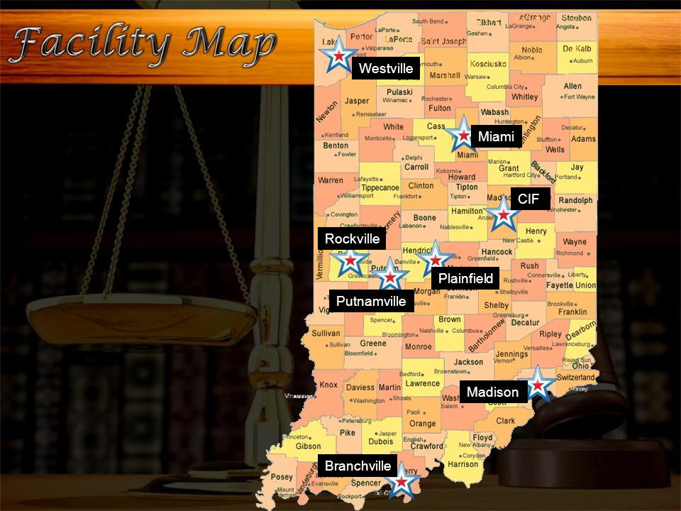 Westville Indiana Map.The Indiana Department Of Correction Ppt Video Online Download