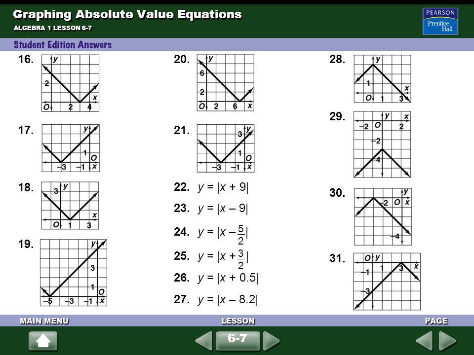 graphing activity #1 answer key