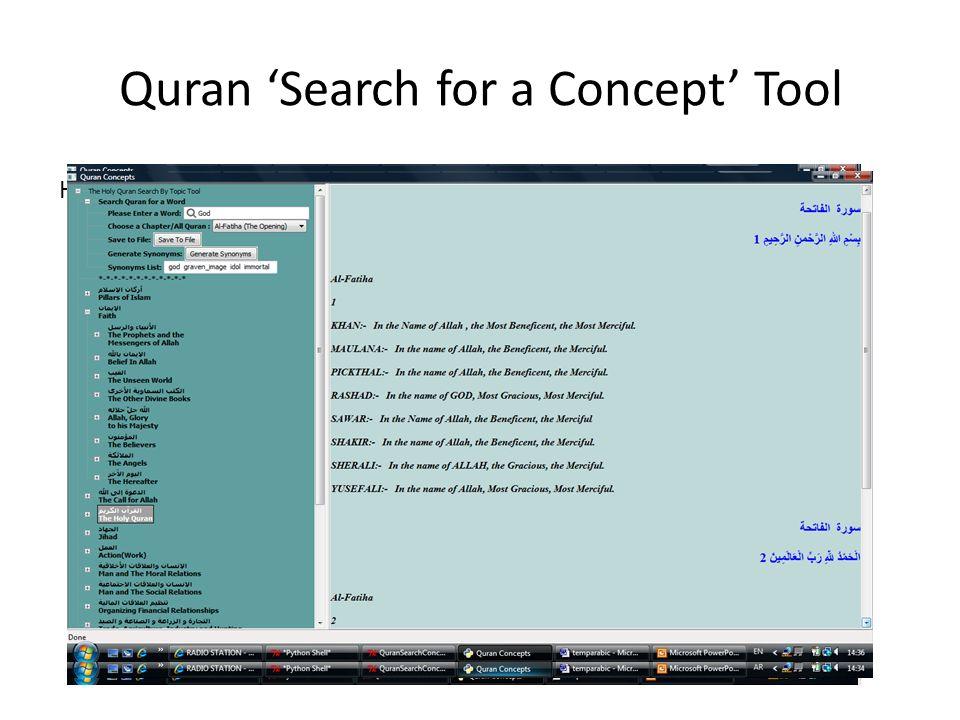 Corpus Linguistics for Understanding the Quran - ppt video