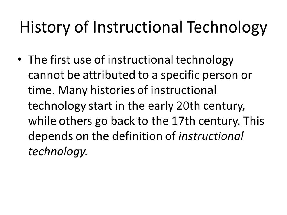 What Is Instructional Technique In Education Ppt Video Online