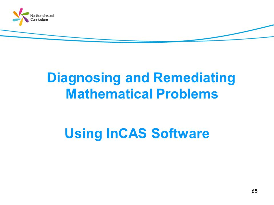Diagnosing and Remediating Mathematical Problems
