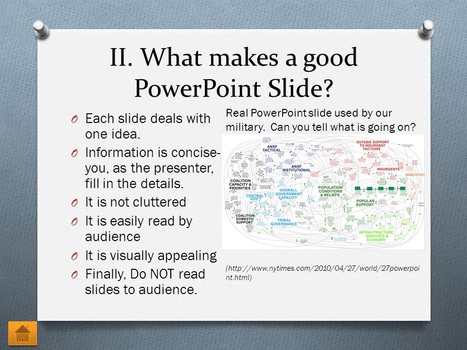 what makes a good powerpoint
