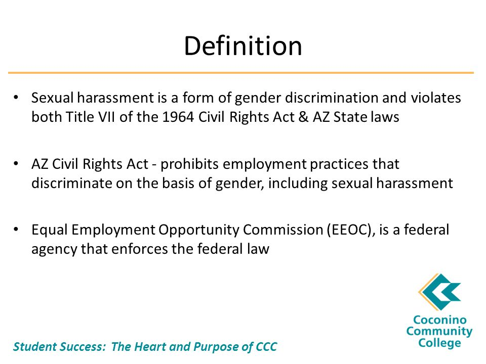 employment discrimination on the basis of gender Identity, gender transition, gender identity, and gender expression the commission will accept for filing sex discrimination complaints arising out of the complainant's sex assigned at birth, sexual orientation, transgender identity, gender.