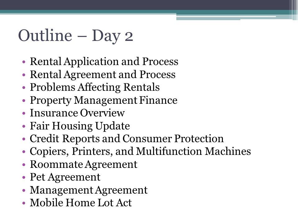 Principles Of Property Management Ppt Download