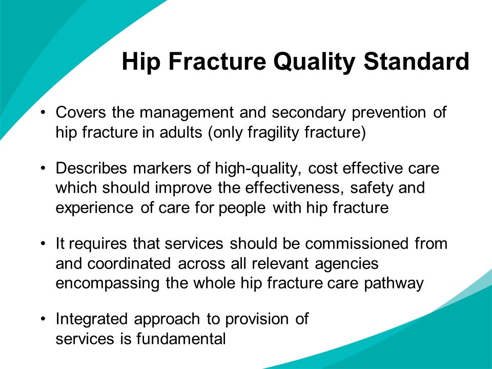 Hip Fracture Quality Standard