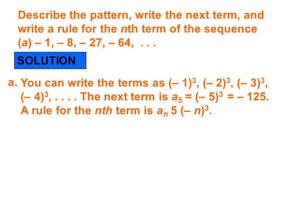 71 Define And Use Sequences And Series Ppt Download