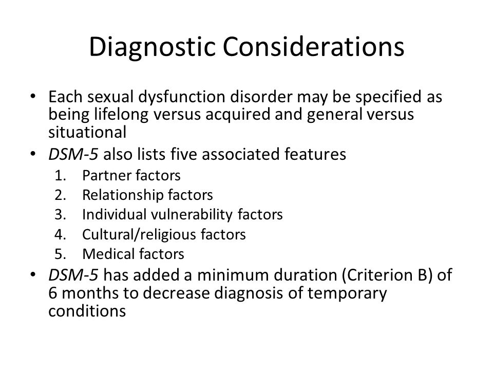 List and definitions of paraphilias and sexual disorders