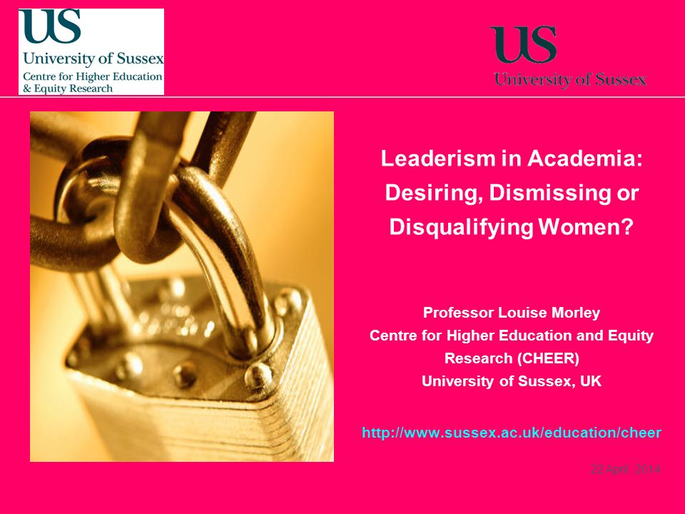 Leaderism in Academia: Desiring, Dismissing or Disqualifying Women