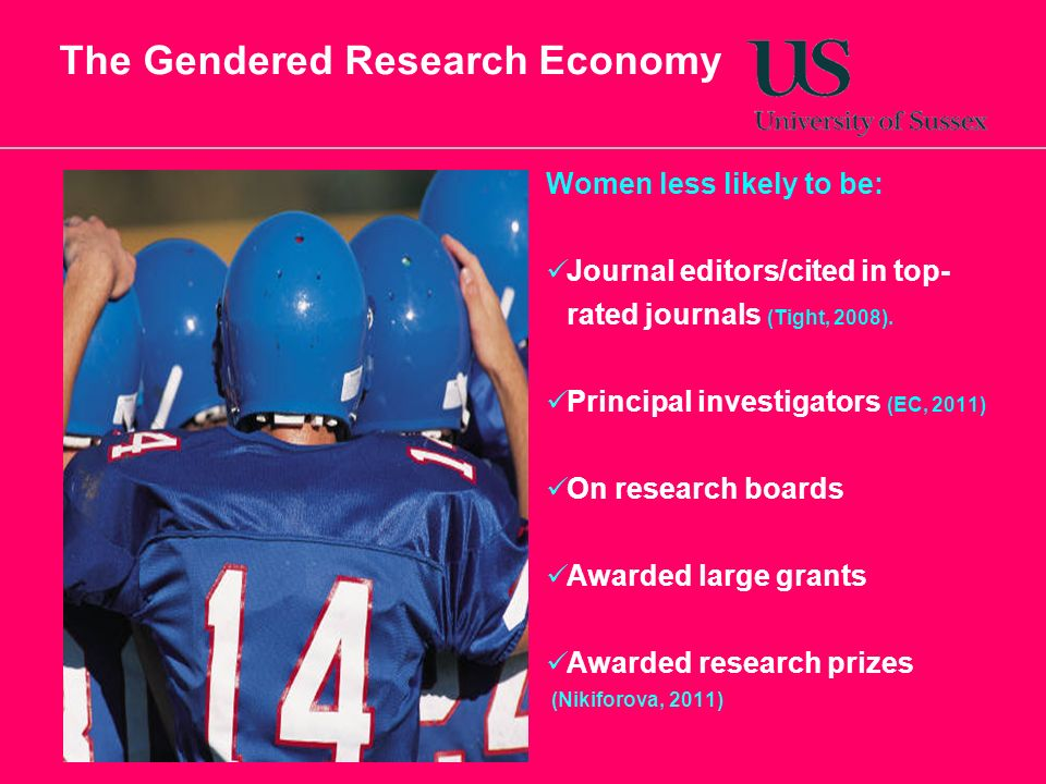 The Gendered Research Economy