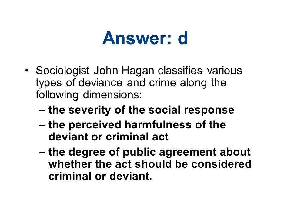 who are the criminals hagan john