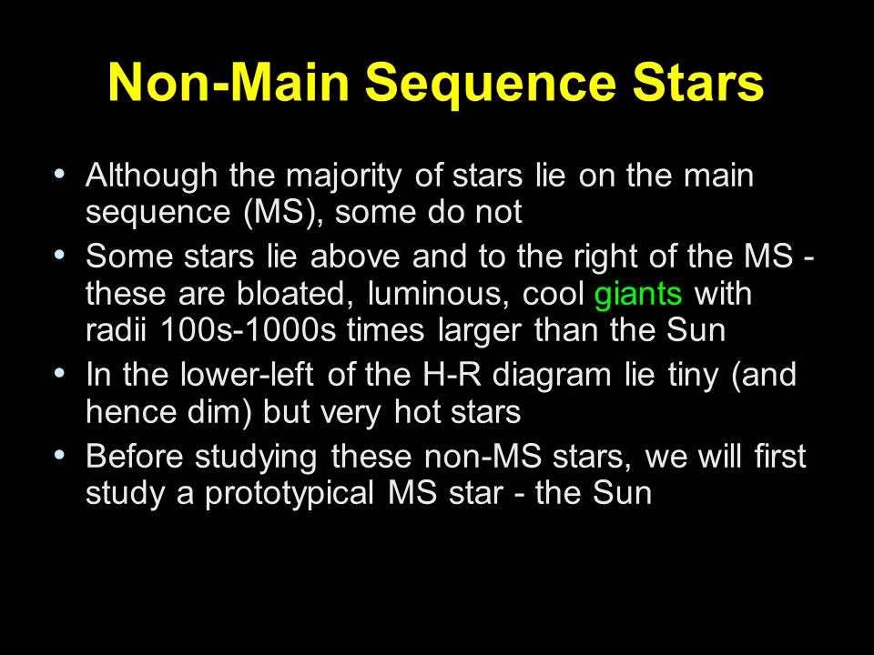 Lecture 11 Understanding Stars The H R Diagram Ppt Video Online