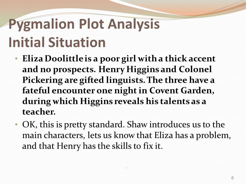 pygmalion summary and analysis