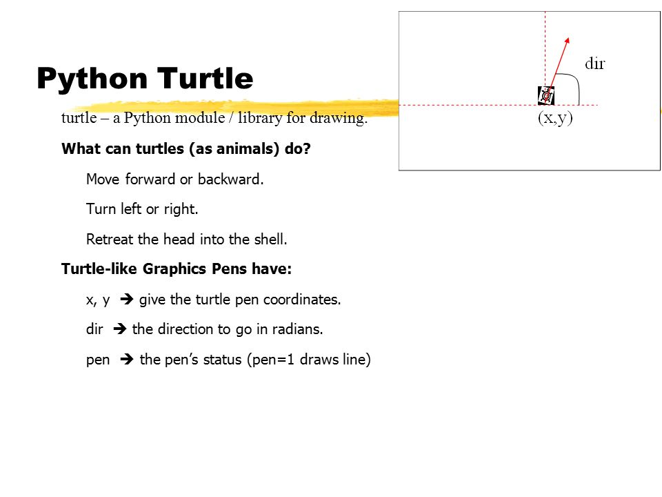 Main Points: - Python Turtle - Fractals - ppt video online