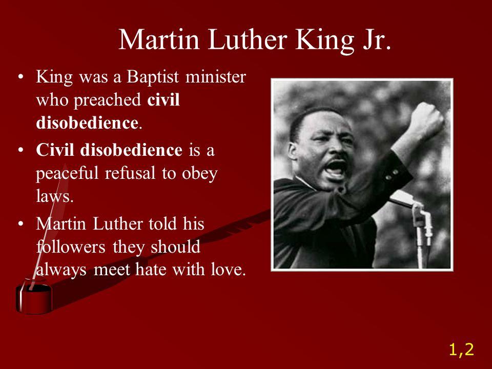 Martin Luther King Jr Ppt Video Online Download