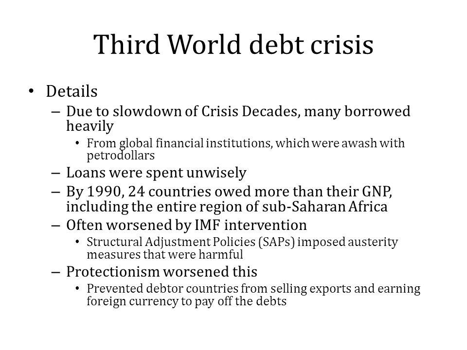 what is third world debt