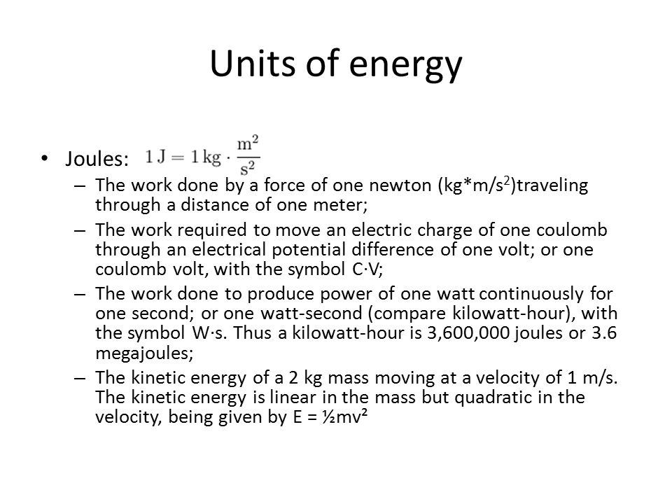 What Is Energy Physics Definition The Ability To Do Work Ppt