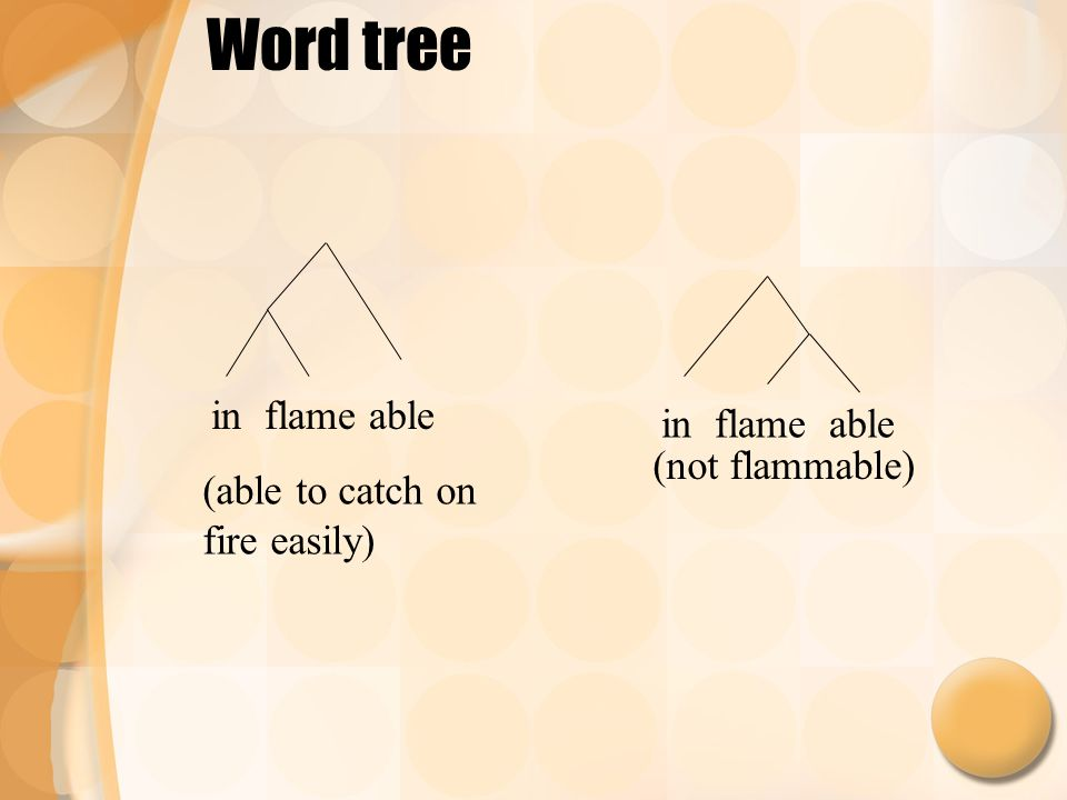 Word Trees And Meaning Ppt Video Online Download