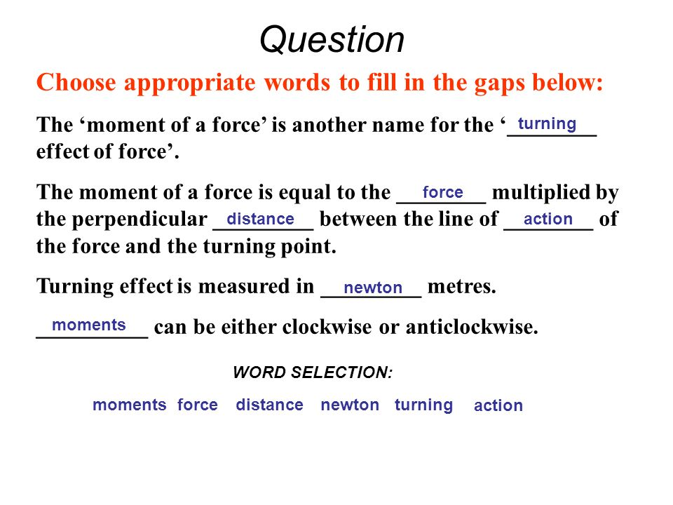 EDEXCEL IGCSE PHYSICS 1-5 The Turning Effect of Forces - ppt