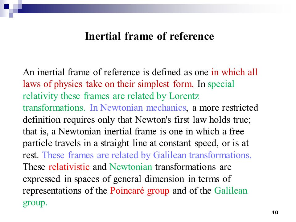 Frame of Reference. - ppt video online download