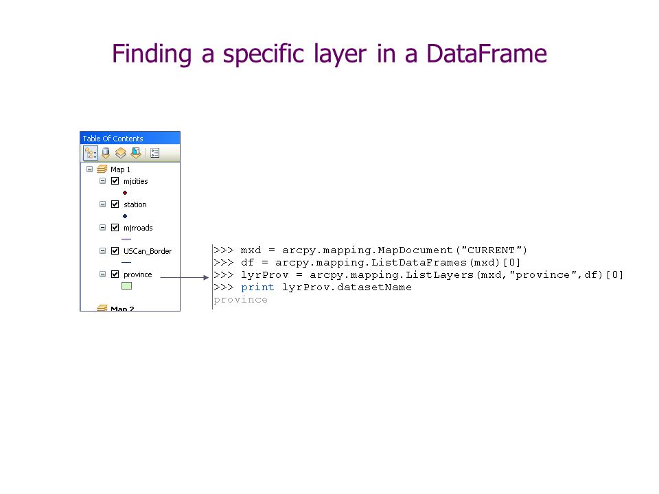 MXD, Maps, Layers arcpy mapping Classes  - ppt video online