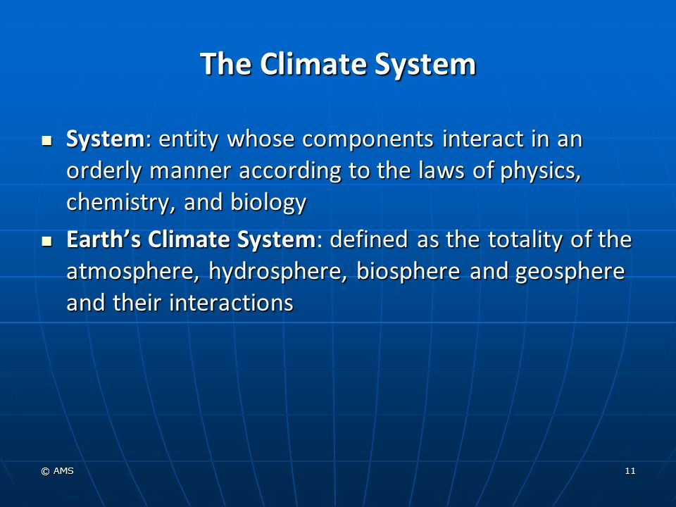 Climate Definition Biology