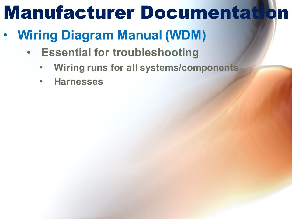 Chapter 5 documentation for maintenance ppt download 11 manufacturer documentation wiring diagram manual wdm asfbconference2016 Gallery