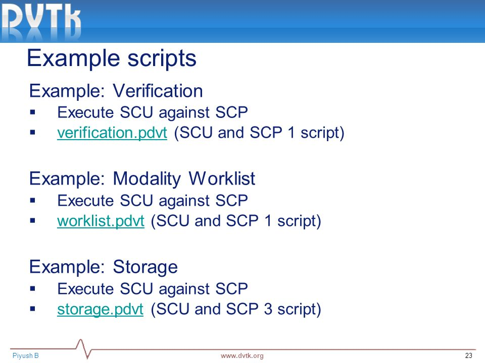 Basic Validation of DICOM objects using DVTk - ppt video online download