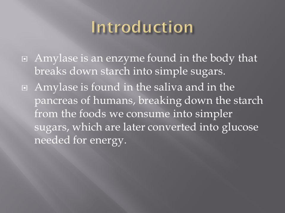 amylase enzyme pierdere în greutate