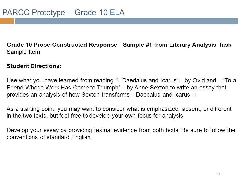 english essay topics for grade 10