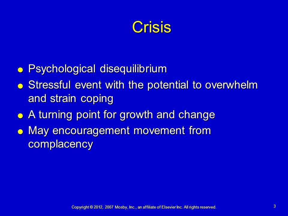 Crisis: Theory and Intervention - ppt video online download