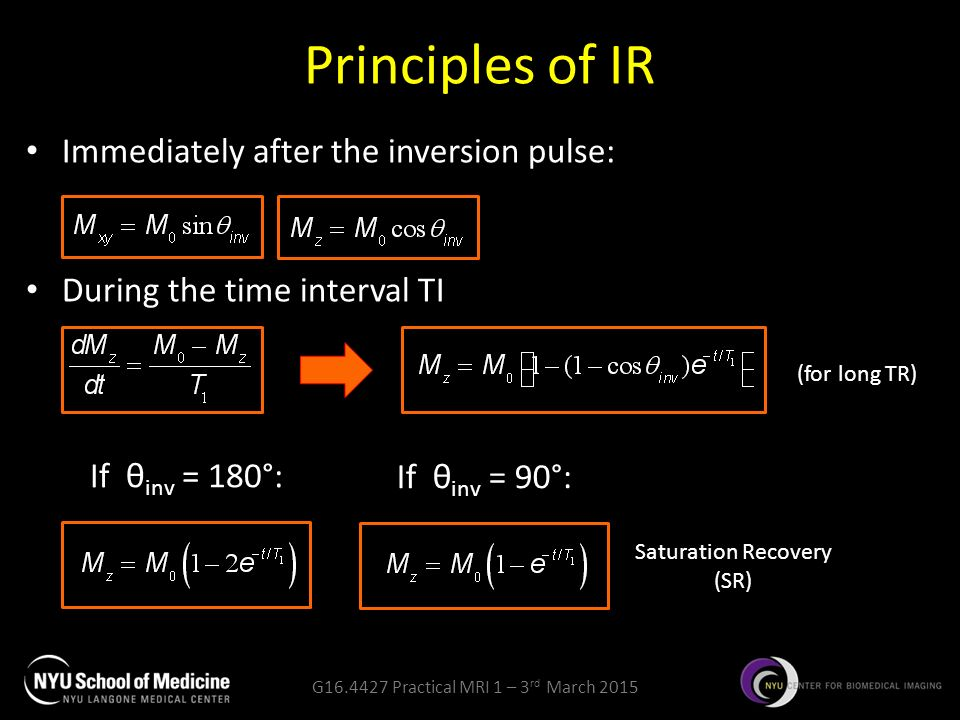 G Practical MRI 1 Basic pulse sequences  - ppt video online