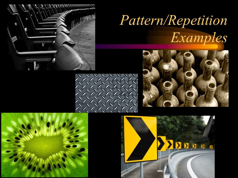Pattern/Repetition Examples