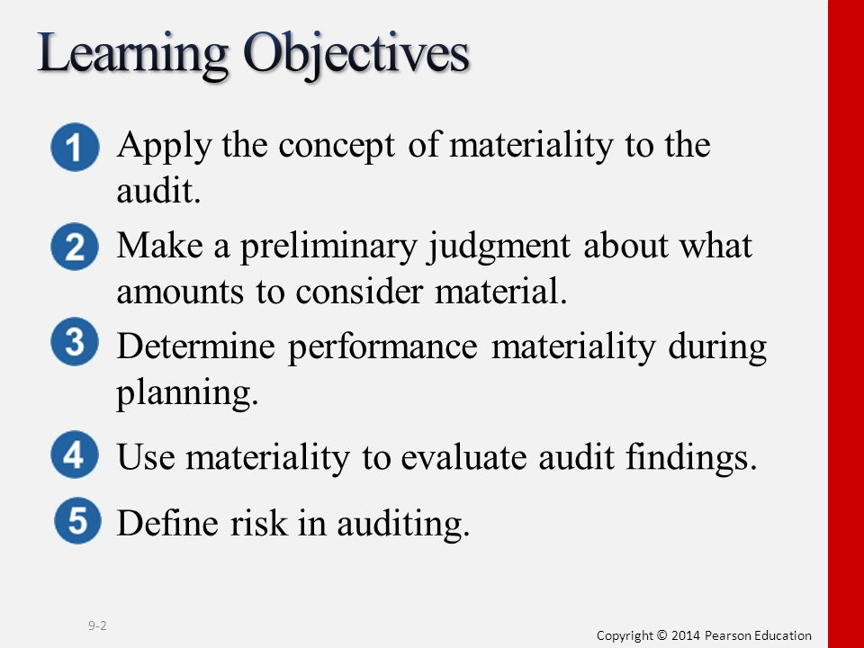 planning materiality calculation example