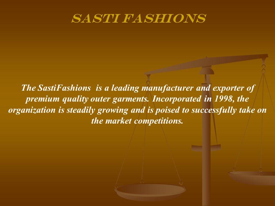 SASTI FASHIONS Company Profile  - ppt video online download