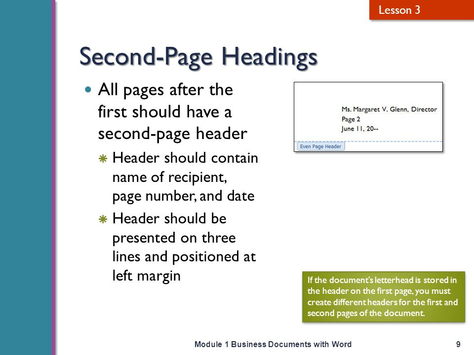 how to start page number in word from second page
