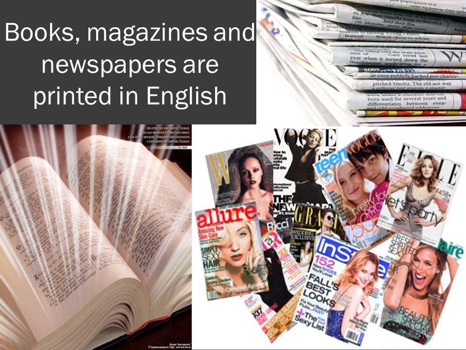 Magazine teens foreign language