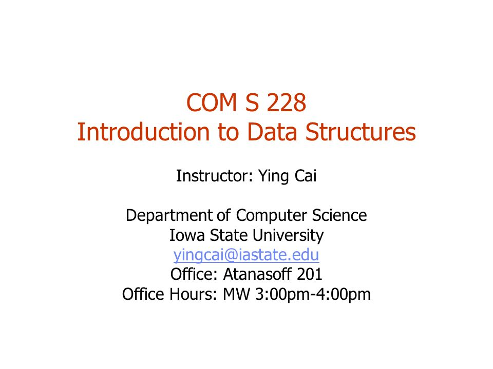 Introduction To Data Structures Ppt Download