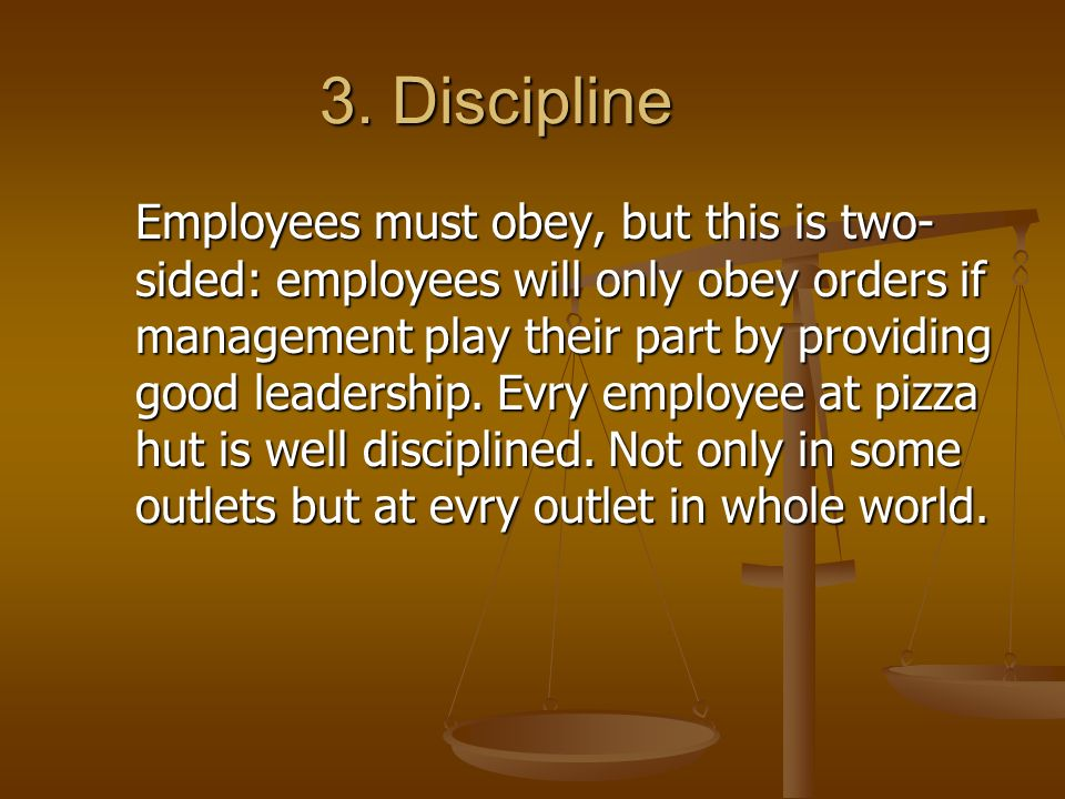 14 principal of management