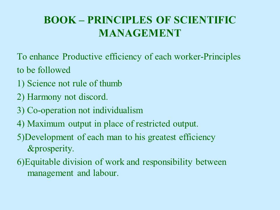 EVOLUTION OF MANAGEMENT THOUGHT - ppt video online download