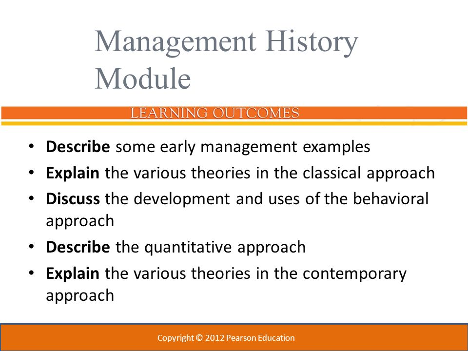 classical management examples
